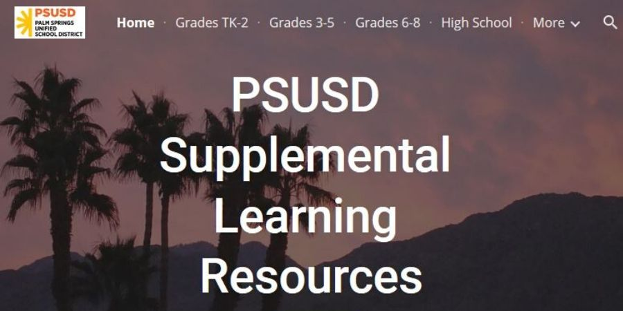PSUSD Supplemental Learning Resources
