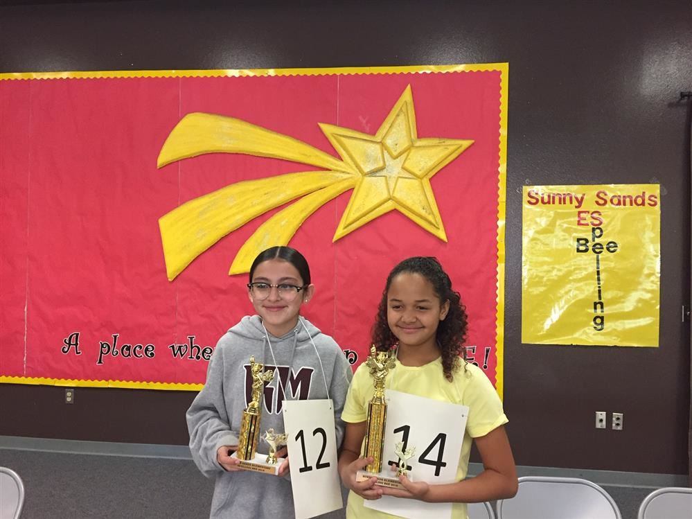 Congratulations Spelling Bee Winners!