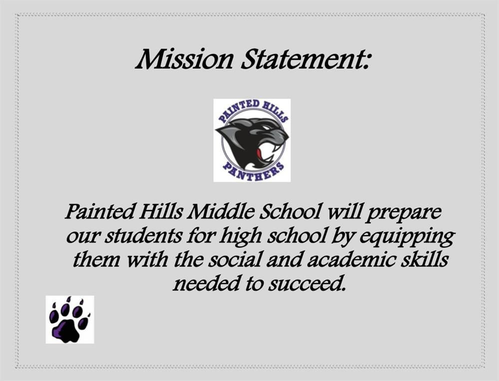 PHMS Mission Statement