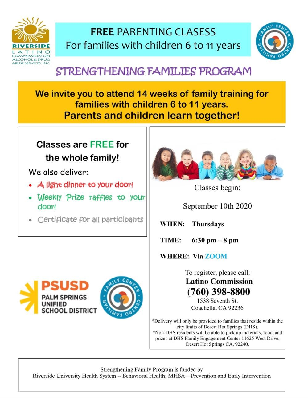 Free Parenting Classes
