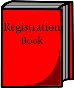 Registration Book