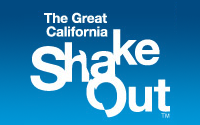 The Great California Shake Out Logo