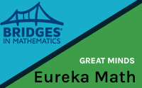 Eureka Math and Math Bridges Logos