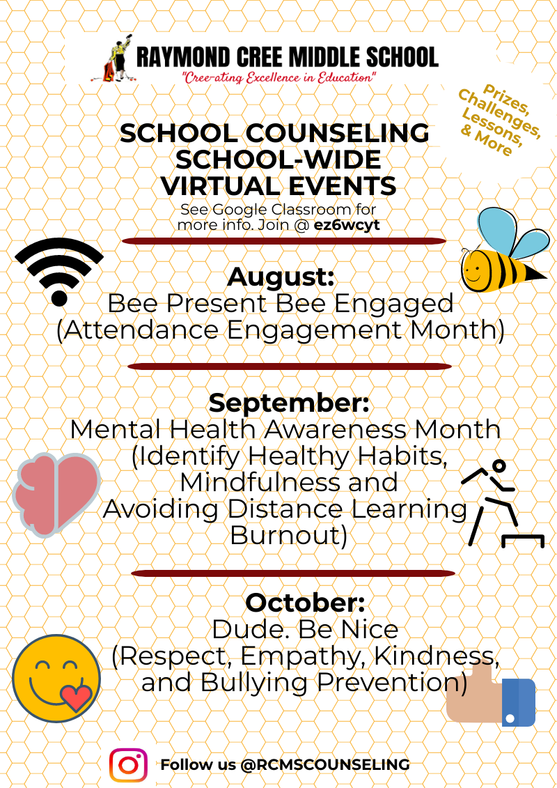RCMS Counseling Events