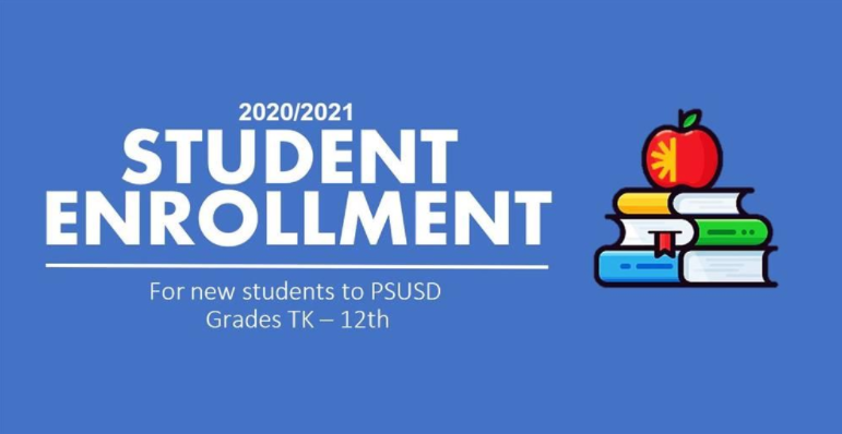 If you have a new student enrolling in PSUSD, please select the following.